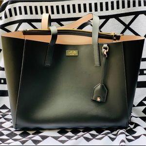 Authentic Kate Spade Black Leather Shoulder Bag